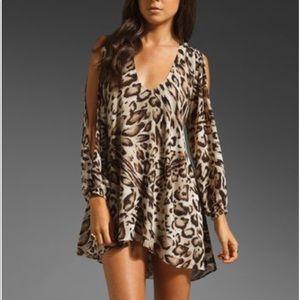 Lovers + Friends Leopard Tunic Dress